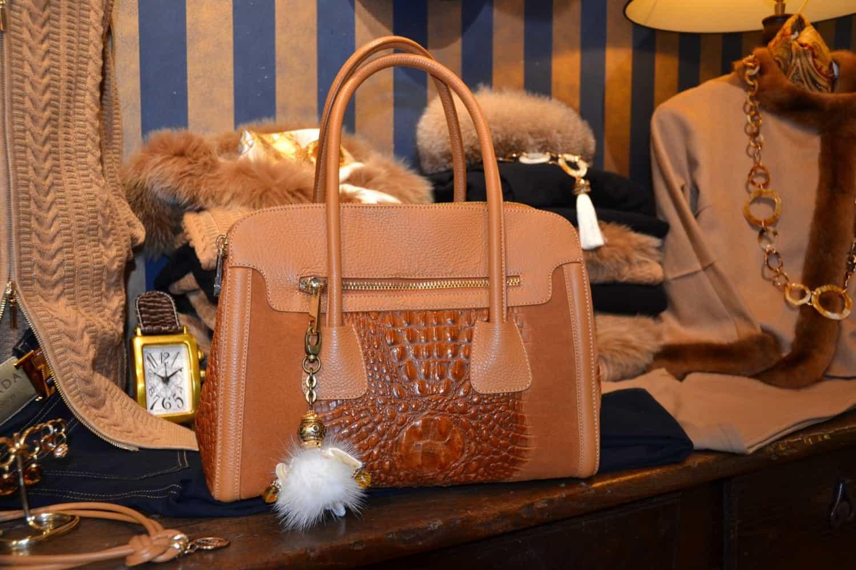 Exclusieve dames handtassen bij Modici in Laren in het Gooi